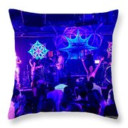 Manitoa And Friends Throw Pillow