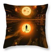 Mankinds Ability To Harness Atomic Throw Pillow