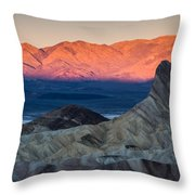 Manly Dawn Throw Pillow