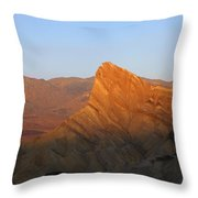 Manly Peak Death Valley Throw Pillow
