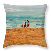 Manly Seashore Sydney Throw Pillow