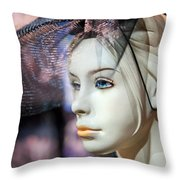 Mannequin 1 Throw Pillow