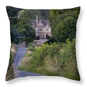 Manor House - Cotswolds Throw Pillow