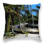 Man's Lost Dream Throw Pillow