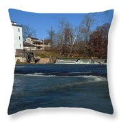 Mansfield Mill Throw Pillow