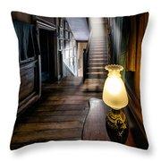 Mansion Lamp Throw Pillow