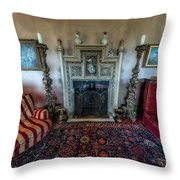 Mansion Sitting Room Throw Pillow