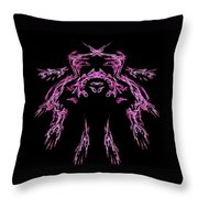Many Hands Throw Pillow