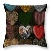 Many Types Of Love Throw Pillow