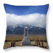 Manzanar National Historic Site Throw Pillow