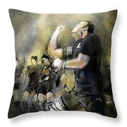Maori Haka Throw Pillow