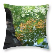 Maple Reflections Throw Pillow
