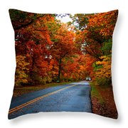 Maple Road Throw Pillow