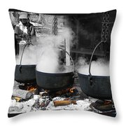 Maple Syrup Pioneer Style Throw Pillow