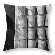 Maple Syrup Sap Pails Throw Pillow