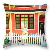 Maple View Manor Throw Pillow