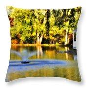 Maples Farm 3 Throw Pillow