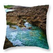 Mar Chiquita 2 Throw Pillow