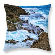 Mar Chiquita 6 Throw Pillow