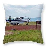 Mara Serena Air Strip Throw Pillow