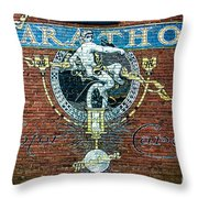 Marathon Motor Cars Throw Pillow