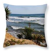 Marbella Beach Throw Pillow
