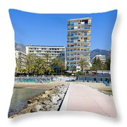 Marbella Resort In Spain Throw Pillow