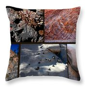 Marble Canyon Throw Pillow