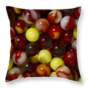 Marble Collection 19 Throw Pillow