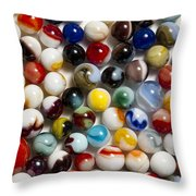 Marble Collection 9 Throw Pillow
