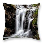 Marble Falls Waterfall 3 Throw Pillow