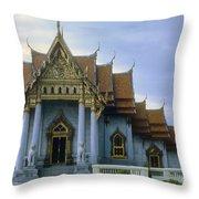 Marble Palace Throw Pillow