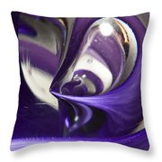 Marble Wilkerson Glass 4 Throw Pillow
