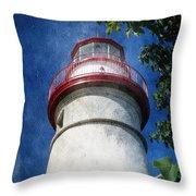 Marblehead Lighthouse 2 Throw Pillow