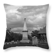 Marblehead Old Burial Hill Cemetery Throw Pillow