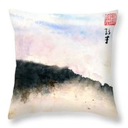 March In The Hudson Valley Throw Pillow