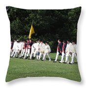 March To Freedom Throw Pillow