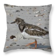 Marching Ruddy Throw Pillow