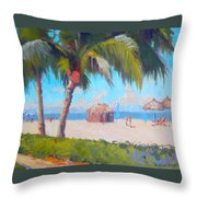 Marco Island Throw Pillow