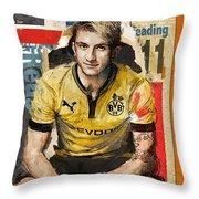 Marco Reus Throw Pillow