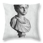 Marcus Annius Verus Throw Pillow