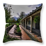 Marcy Casino In Delaware Park Throw Pillow