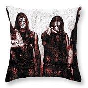 Marduk Throw Pillow