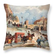 Margaret Of France Visiting Throw Pillow