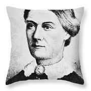 Margaret Taylor (1788-1852) Throw Pillow