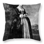 Margaret Woffington (c1714-1760) Throw Pillow