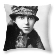 Margaret Woodbury Strong (1897-1969) Throw Pillow