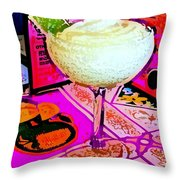 Margarita Time Throw Pillow