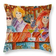 Margaritaville Throw Pillow