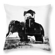Margate Elephant, C1900 Throw Pillow